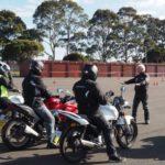 Motorcycle riding course sandown melbourne